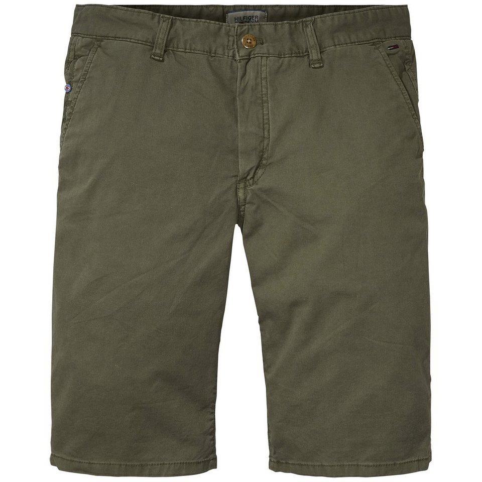 Hilfiger Denim Hosen kurz »Straight Short Freddy FTST GD« in OLIVE NIGHT