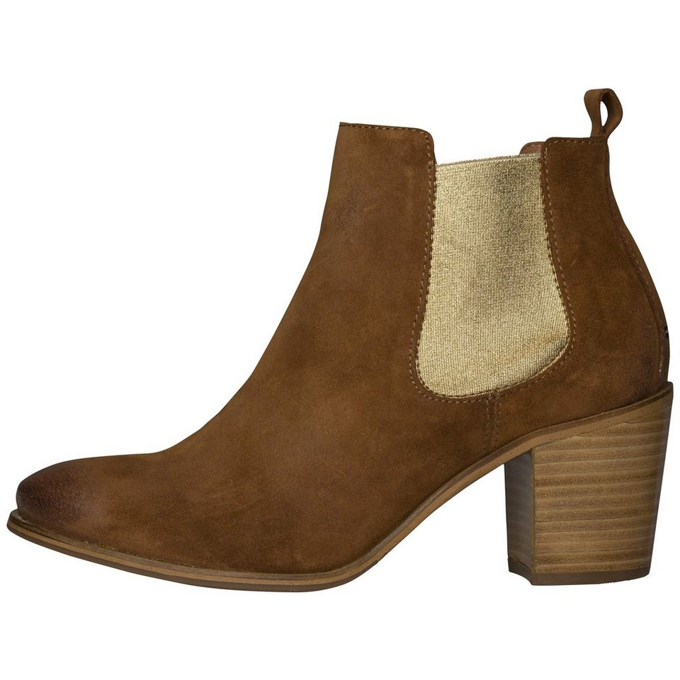 Tommy Hilfiger Ankle Boots »I1385VY 8B« in SUMMER COGNAC