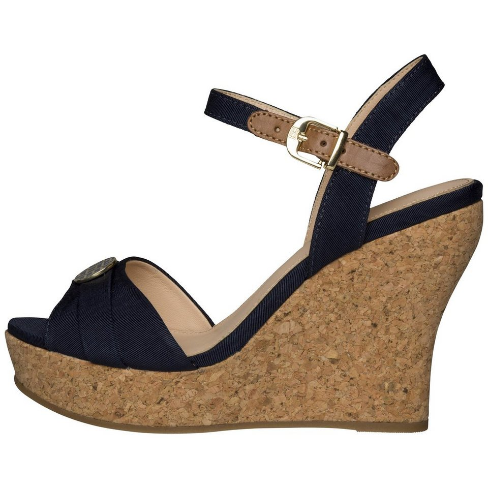 tommy hilfiger sandalen sandaletten i1285rene 10d online kaufen otto. Black Bedroom Furniture Sets. Home Design Ideas