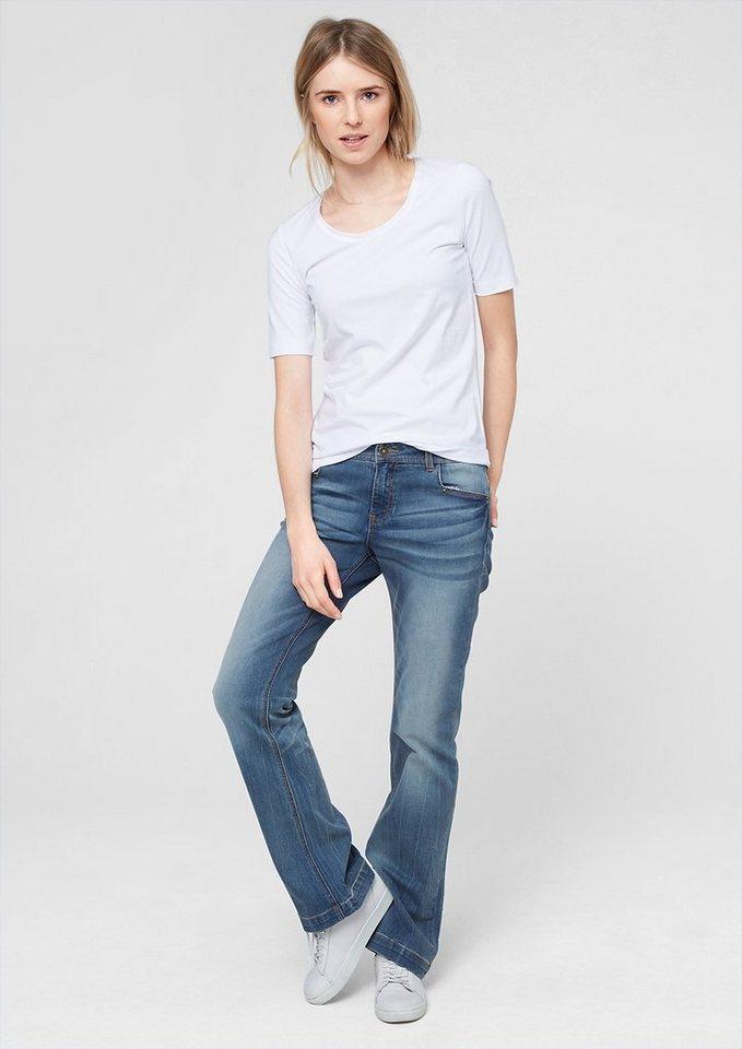 s oliver smart bootcut helle stretch jeans kaufen otto. Black Bedroom Furniture Sets. Home Design Ideas