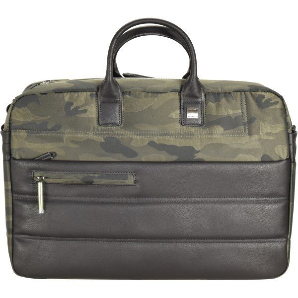 Roncato Boston Aktentasche 42 cm Laptopfach in camouflage verde mil