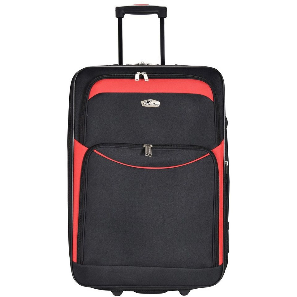 CHECK.IN Ibiza 2-Rollen Trolley 65 cm in rot