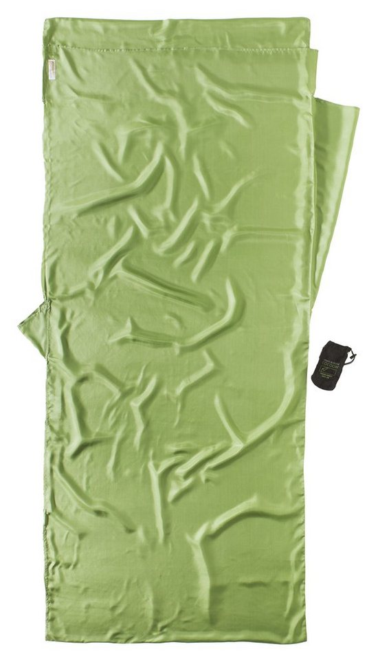 Cocoon Schlafsack »Insect Shield TravelSheet Inlet Silk« in grün