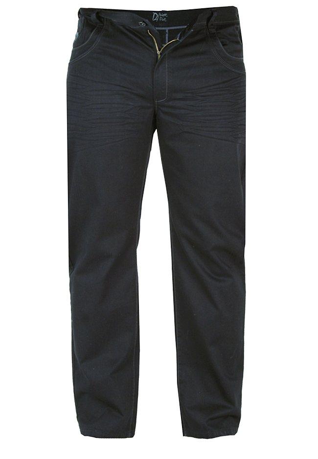D555 Jeans in Schwarz