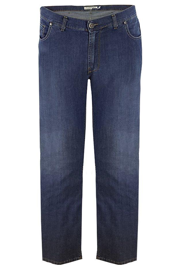 maxfort Jeans Stretch in Blau