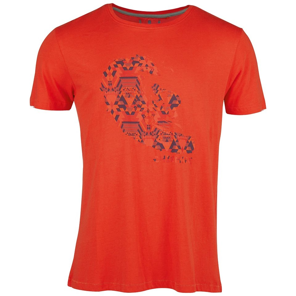 Chiemsee T-Shirt »LARRY« in red clay