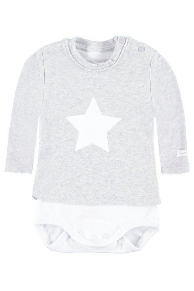BELLYBUTTON 2in 1 Body »mit Shirt, mit Stern« 1 in silver melange
