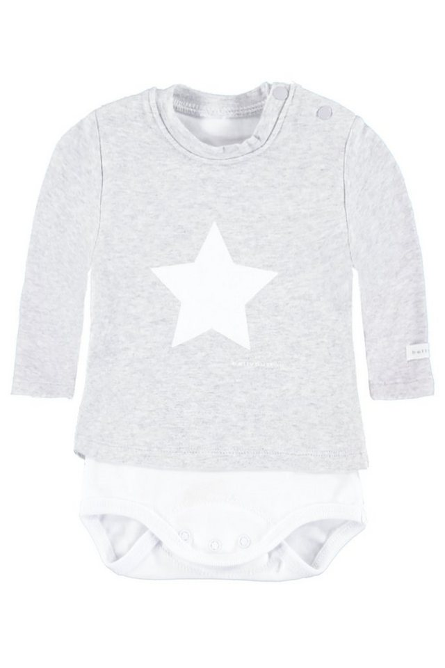 BELLYBUTTON 2in 1 Body »mit Shirt, mit Stern« in silver melange