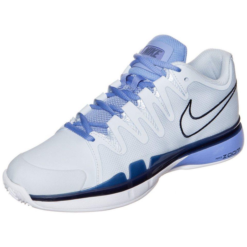 NIKE Zoom Vapor 9.5 Tour Clay Tennisschuh Damen in hellblau / weiß