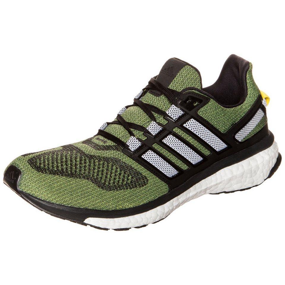 adidas Performance Energy Boost 3 Laufschuh Herren in grün / schwarz