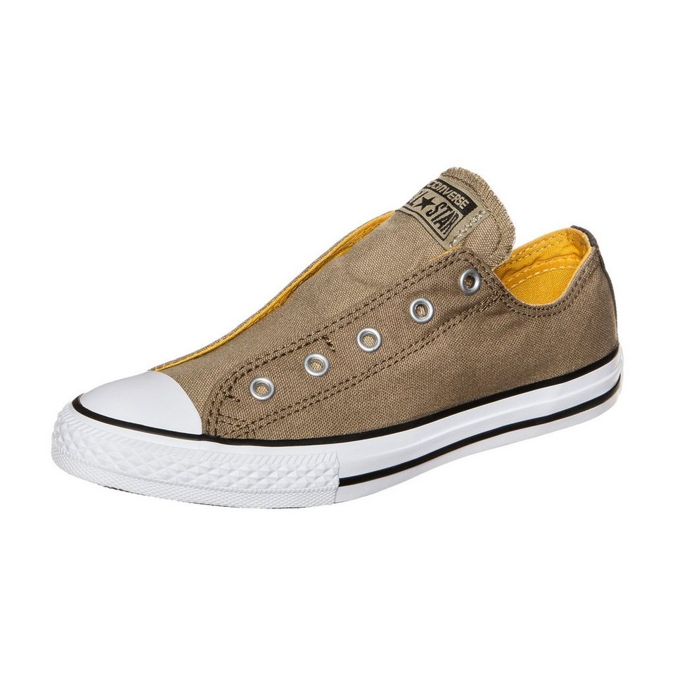 CONVERSE Chuck Taylor All Star Slip Sneaker Kinder in khaki