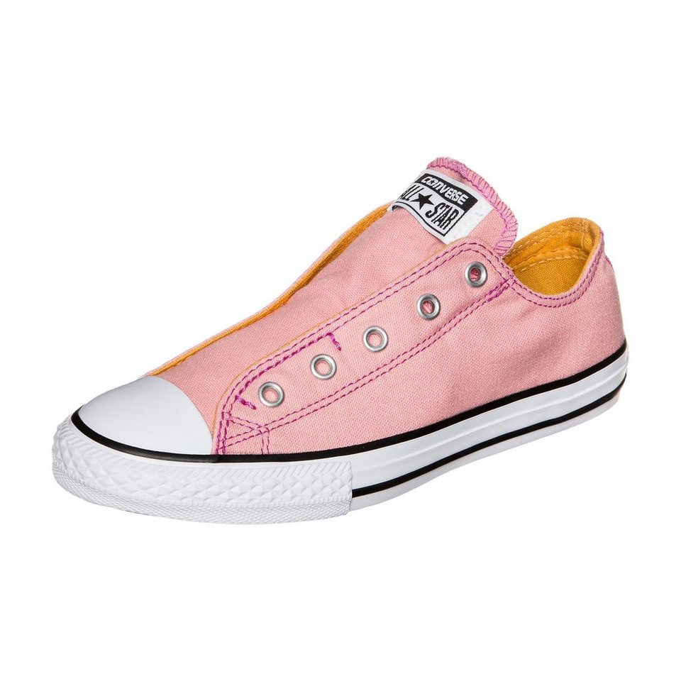 CONVERSE Chuck Taylor All Star Slip Sneaker Kinder in rosa / pink