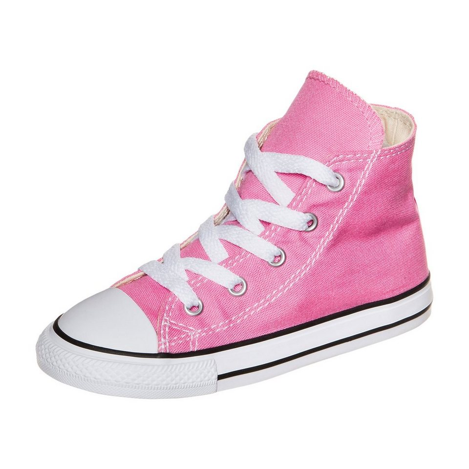 CONVERSE Chuck Taylor All Star High Sneaker Kleinkinder in pink