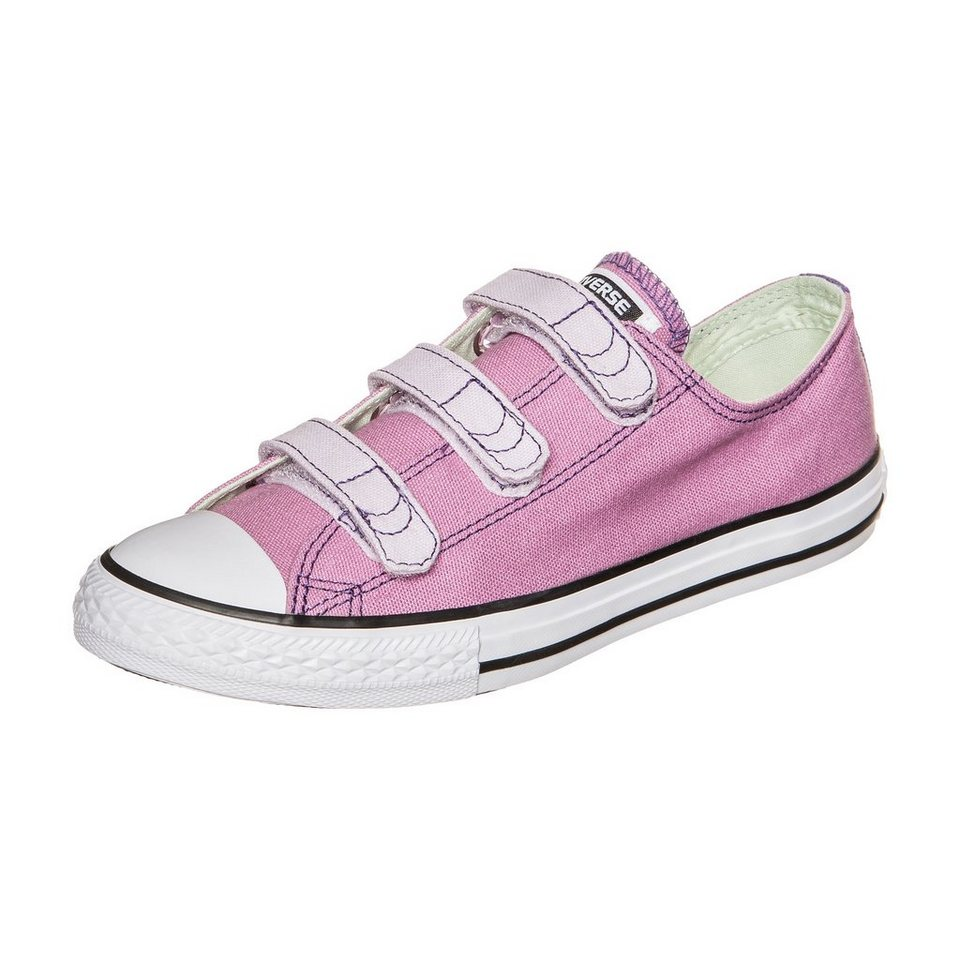 CONVERSE Chuck Taylor All Star 3V OX Sneaker Kinder in lila