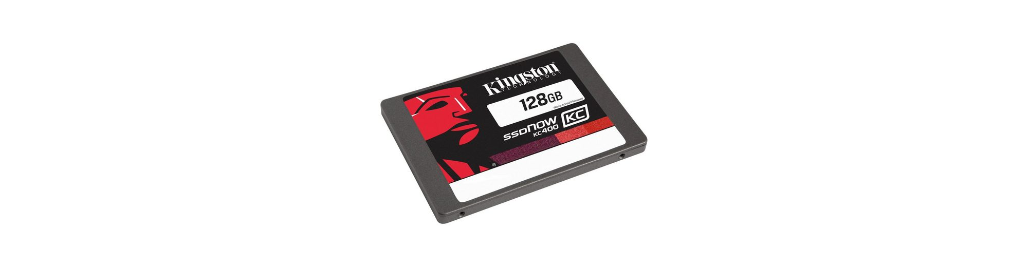 Kingston Solid State Drive »SKC400S3B7A/128G 128 GB Upgrade Bundle Kit«