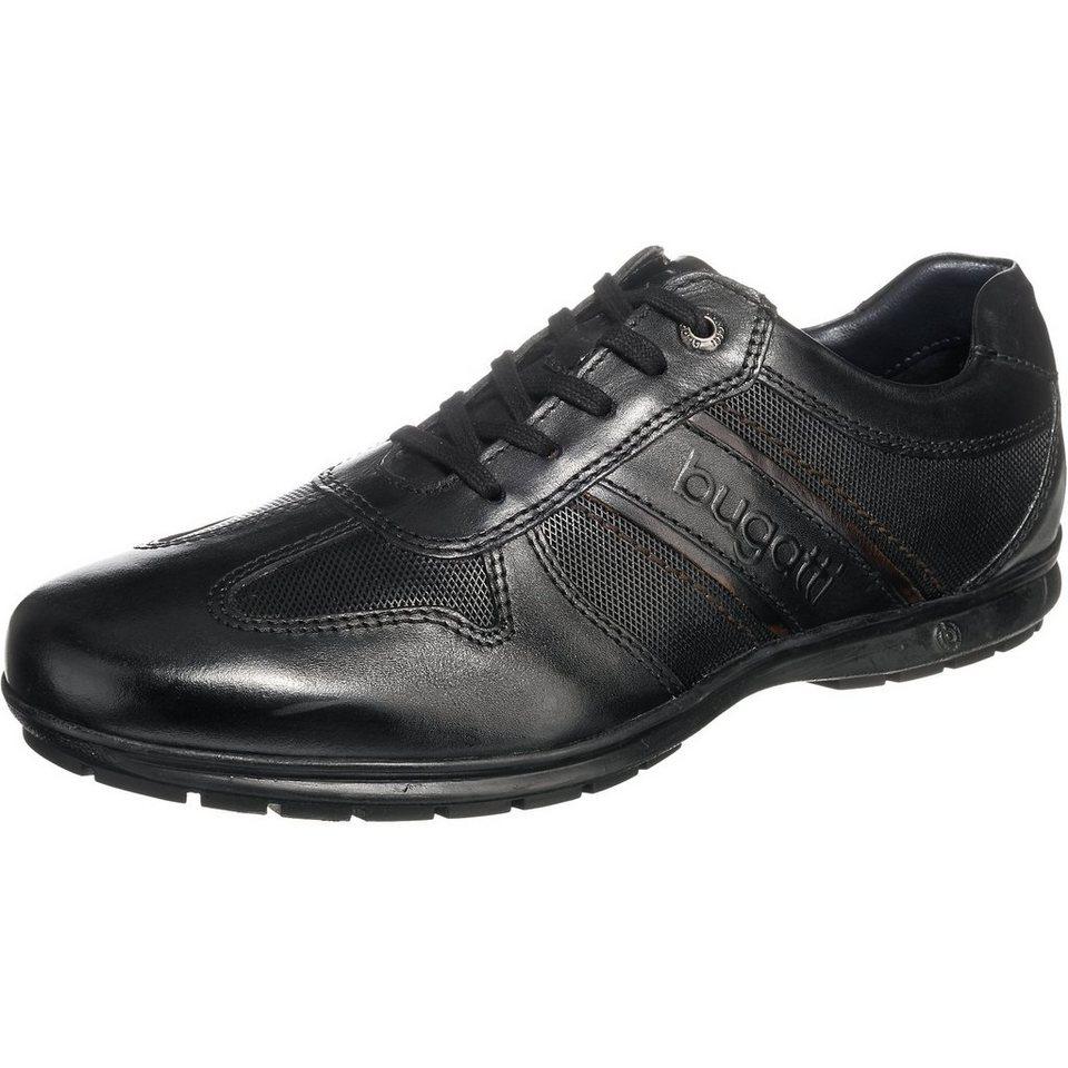 bugatti Freizeit Schuhe in schwarz