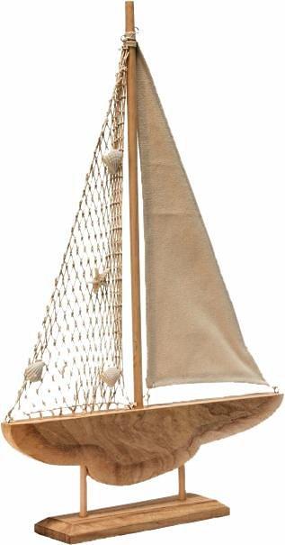 Home affaire Deko-Objekt »Segelboot« in braun