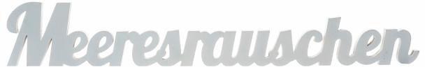 Home affaire Dekoschriftzug »Meeresrauschen« in weiß