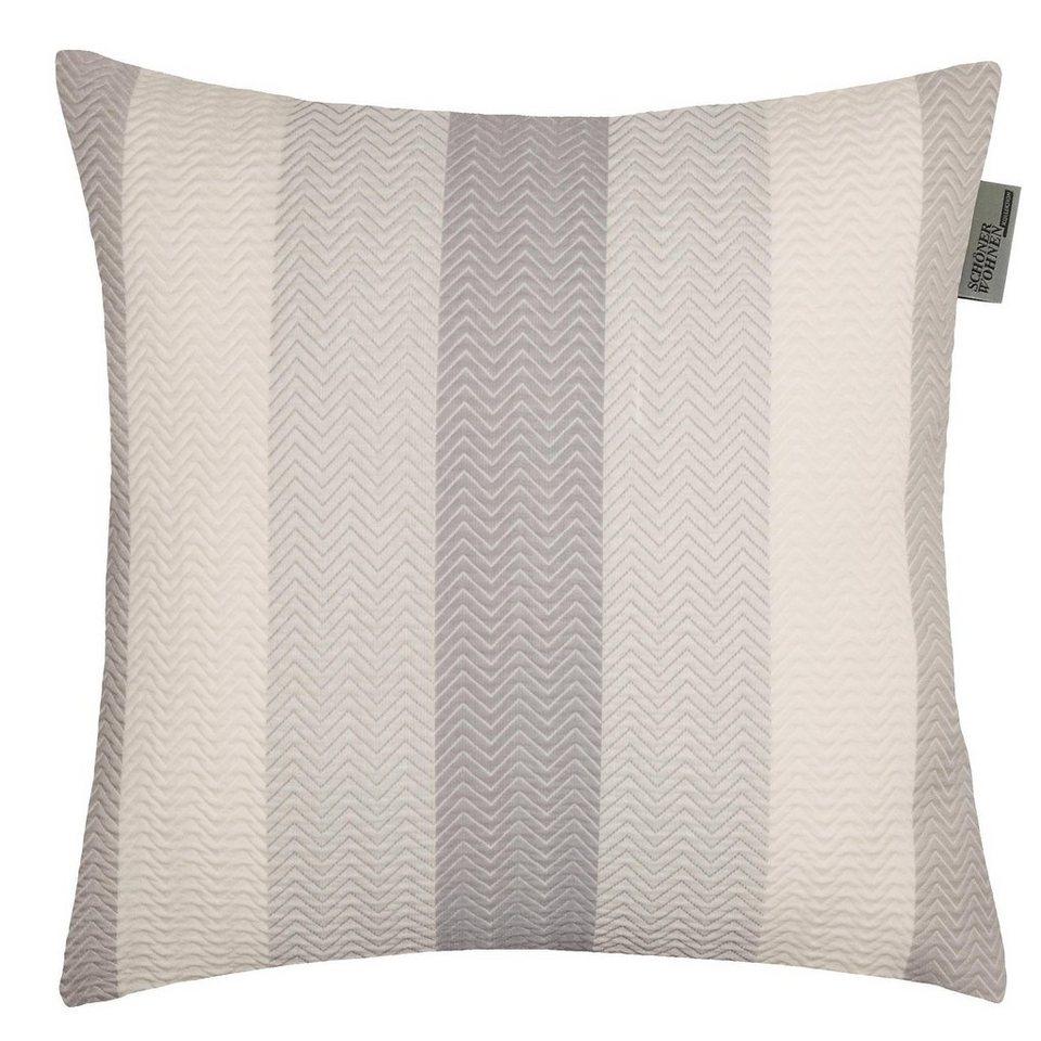 Kissenhülle, Schöner Wohnen, »Zigzag« (1 Stück) in grau