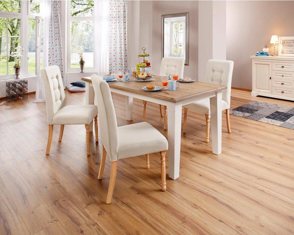home affaire stuhl rosalin im 2er 4er oder 6er set. Black Bedroom Furniture Sets. Home Design Ideas