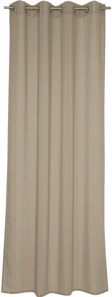 Vorhang, Esprit, »Deep Basso« (1 Stück) in beige-corall