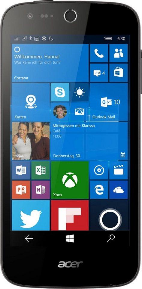 Acer Liquid M330 Smartphone, 11,4 cm (4,5 Zoll) Display, LTE (4G), Windows 10 Mobile, 5,0 Megapixel in schwarz
