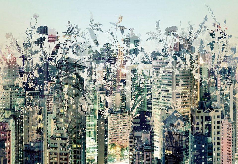 Komar Papiertapete »Urban Jungle«, 368/254 cm in bunt