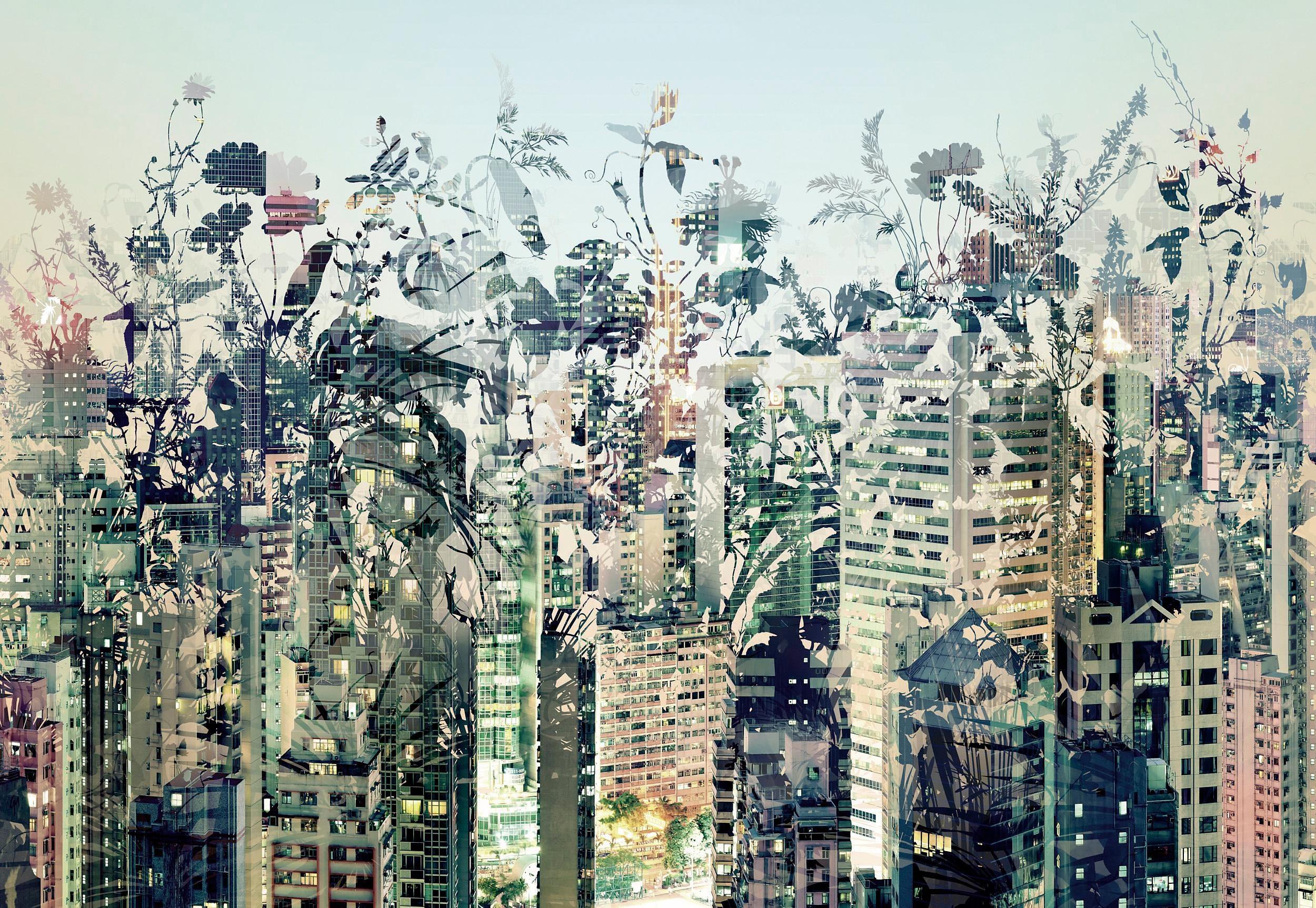 Komar Papiertapete »Urban Jungle«, 368/254 cm