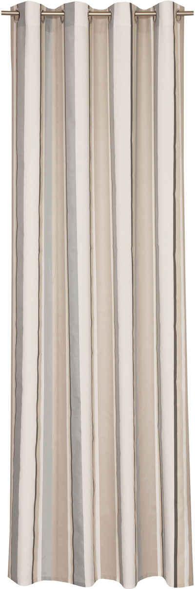 Good Vorhang »Stripes«, SCHÖNER WOHNEN KOLLEKTION, Ösen (1 Stück)