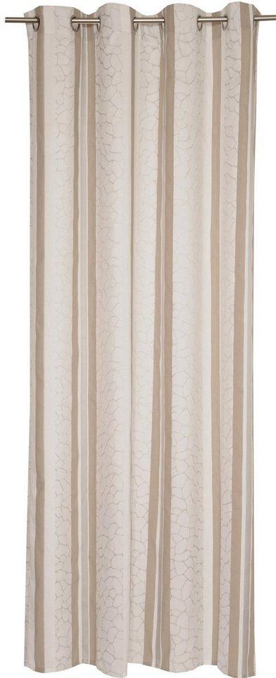 Vorhang, Schöner Wohnen, »Shun«, mit Ösen (1 Stück) in natur