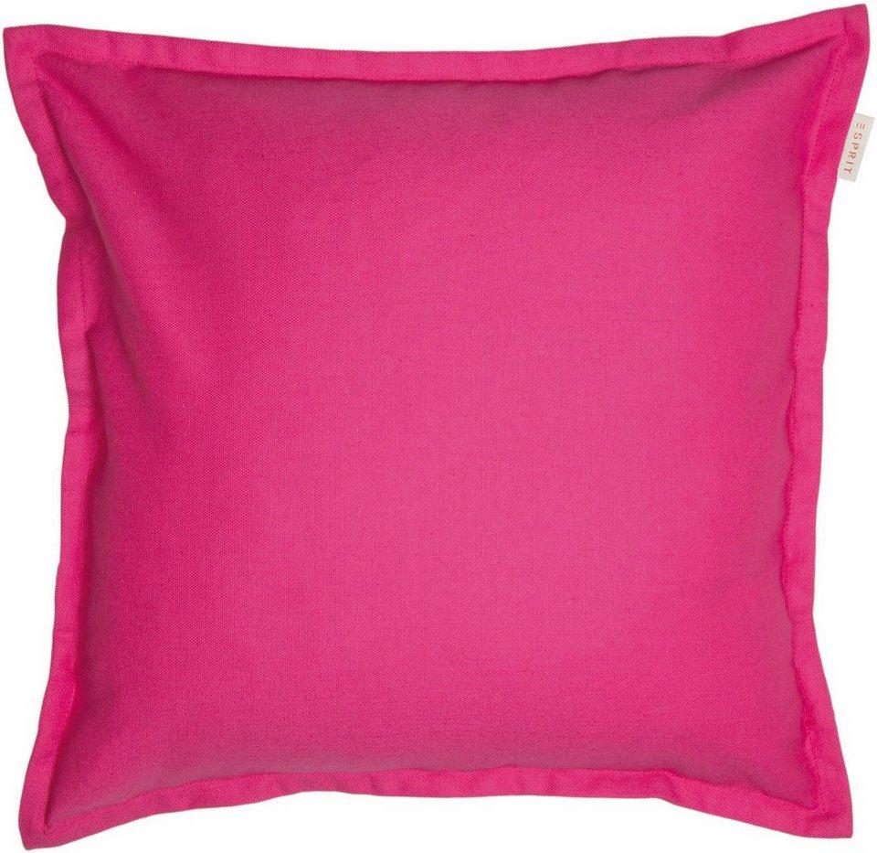 Kissenhülle, Esprit, »Uno« (1 Stück) in pink