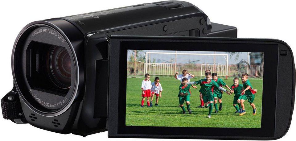 Canon LEGRIA HF-R76 1080p (Full HD) Camcorder, WLAN, NFC in schwarz