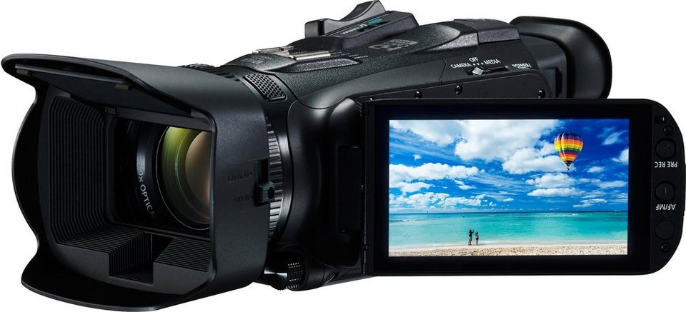 Canon LEGRIA HF-G40 1080p (Full HD) Camcorder, WLAN in schwarz