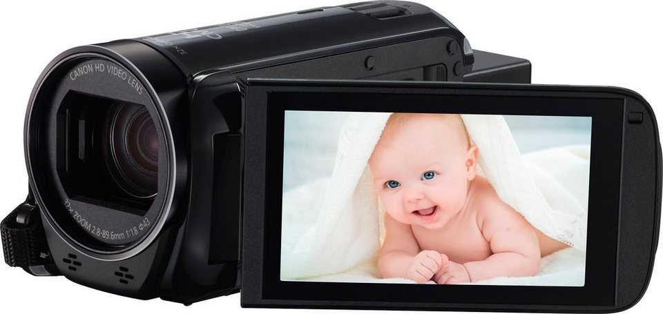 Canon LEGRIA HF R706 1080p (Full HD) Camcorder in schwarz