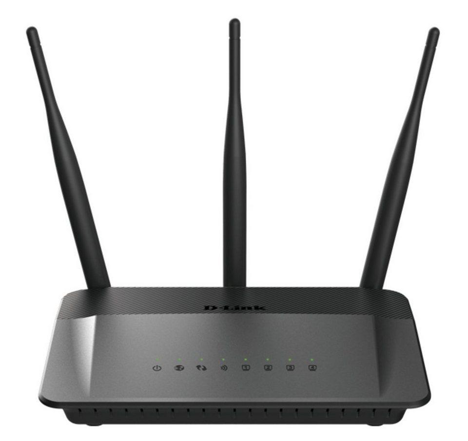 D-Link Router »DIR-809/E AC750 Dualband Router« in Schwarz