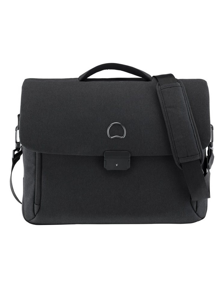 DELSEY Businesstasche mit 14-Zoll Laptopfach , »Mouvement« in schwarz