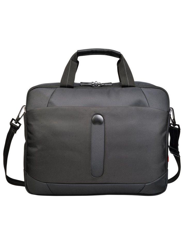 DELSEY Aktentasche mit 2 Fächern und 14-Zoll Laptopfach, »Bellecour« in schwarz