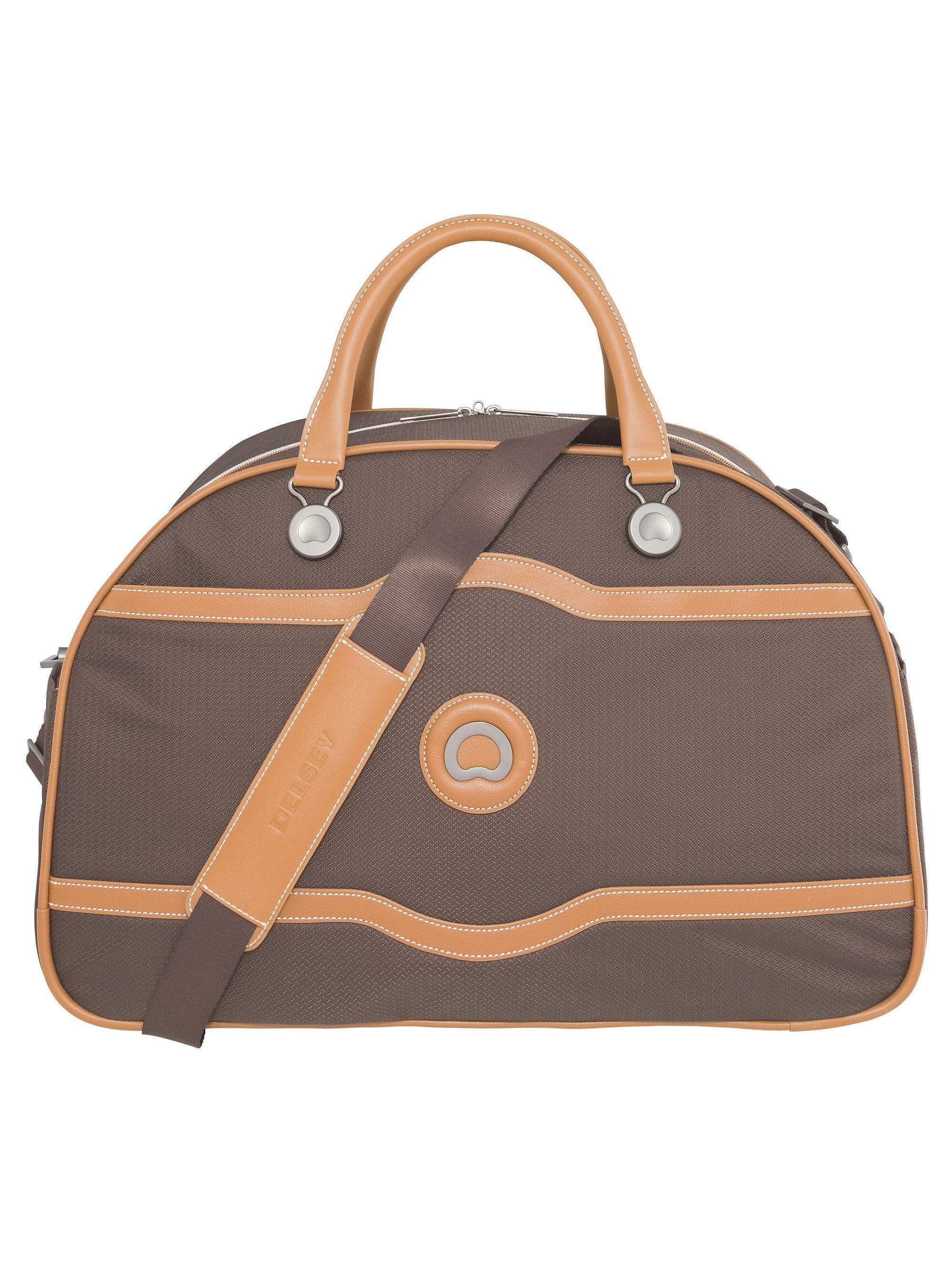 DELSEY Reisetasche mit Ledergriffen und Schultergurt, »Châtelet Soft+«