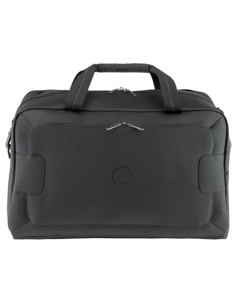 DELSEY Reisetasche mit Schultergurt und TSA-Schloss, »Tuileries« in schwarz