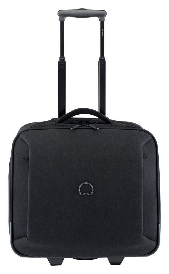 DELSEY Business Trolley mit 14-Zoll Laptopfach und 2 Rollen, »Mouvement« in schwarz