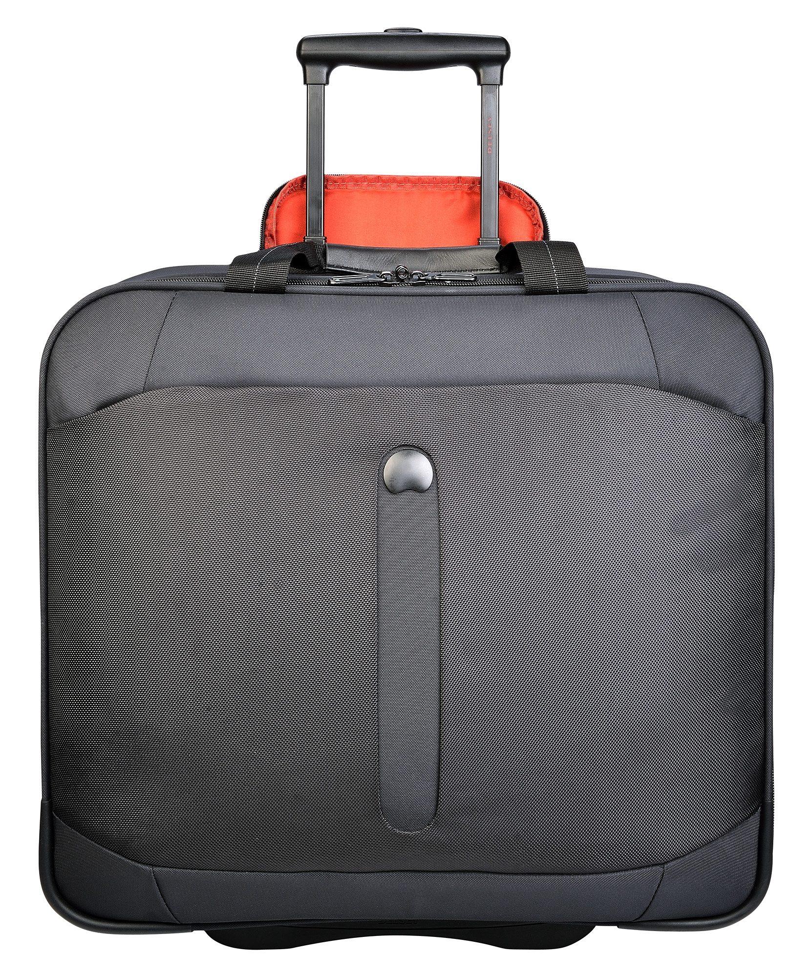 DELSEY Weichgepäck Businesstrolley mit 2 Rollen und 17,3-Zoll Laptopfach, »Bellecour«