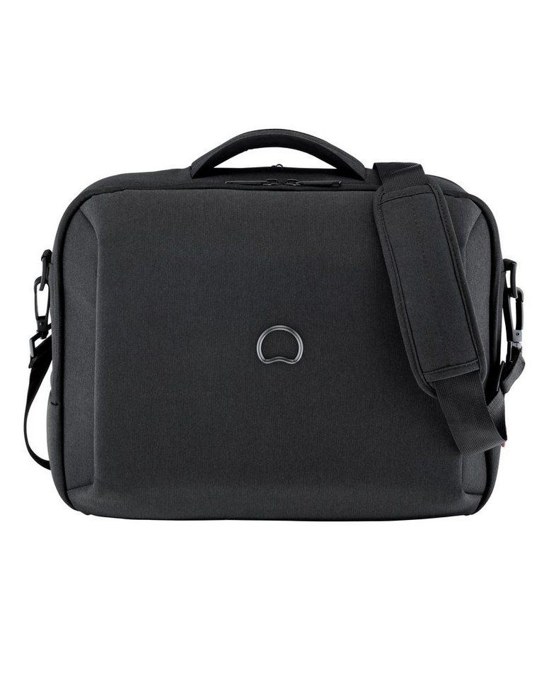DELSEY Businesstasche mit 15,6-Zoll Laptopfach, »Mouvement« in schwarz