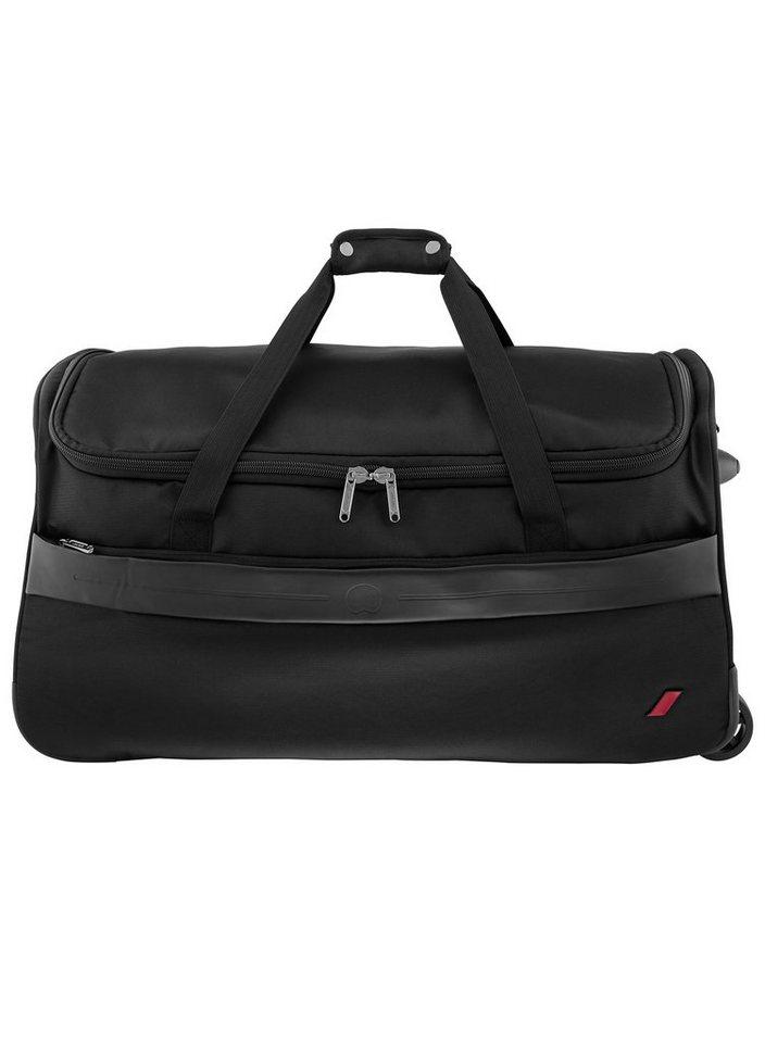 DELSEY Reisetasche mit 2 Rollen und Trolleyfunktion, »Destination« in schwarz
