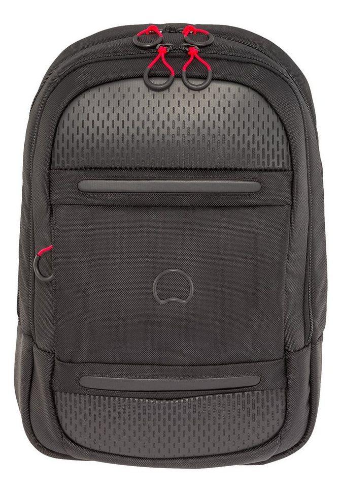 DELSEY Rucksack mit 15-Zoll Laptopfach, »Montsouris« in schwarz
