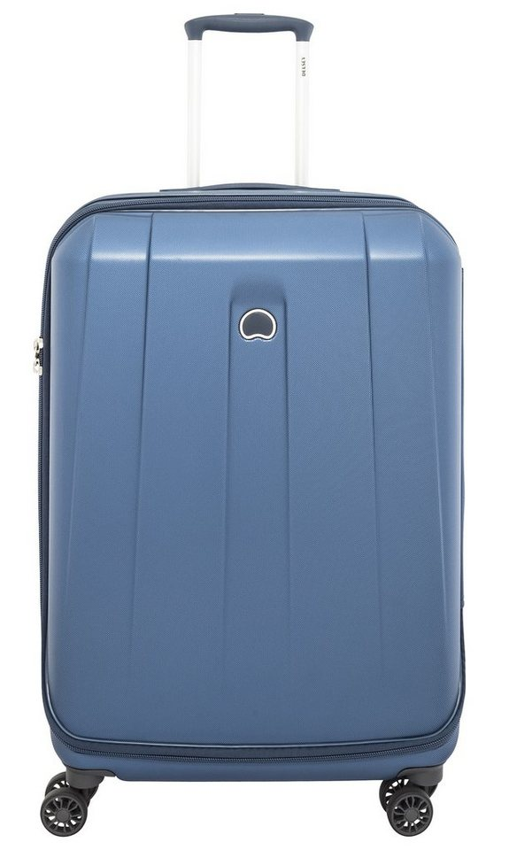 DELSEY Hartschalen Trolley mit 4 Rollen, »Shadow« in blau