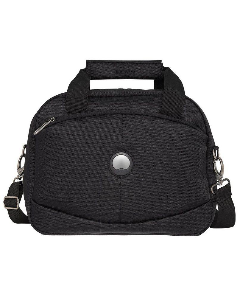 DELSEY Kulturtasche mit Tragegurt, »U-Lite Classic« in schwarz