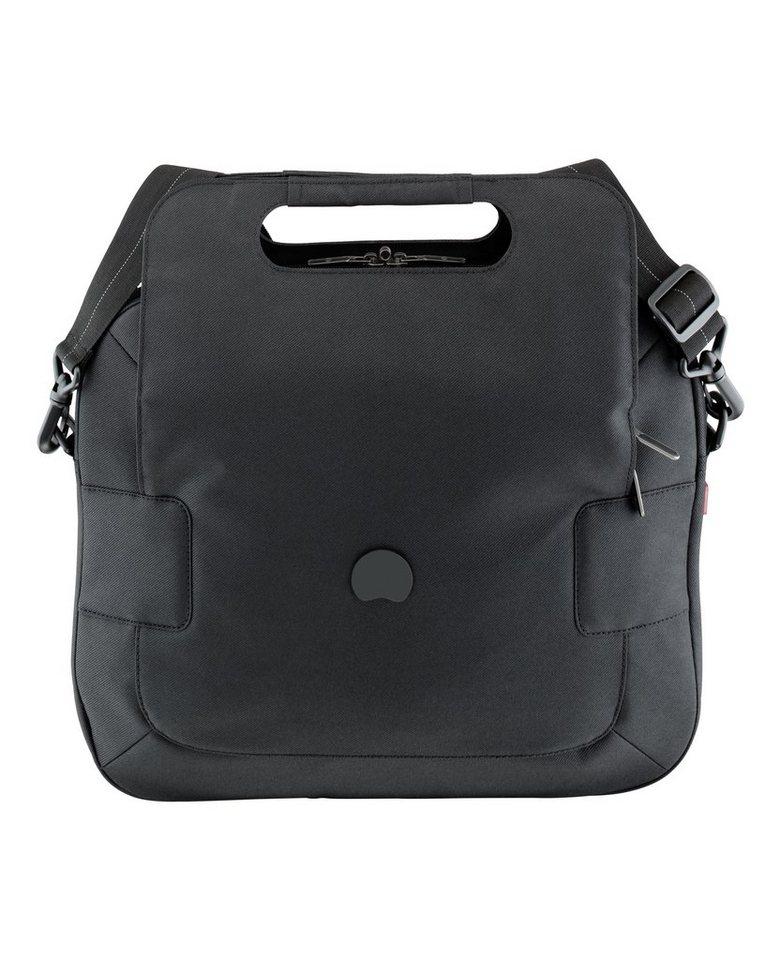 DELSEY Aktentasche mit gepolstertem 14-Zoll Laptopfach, »Tuileries« in schwarz