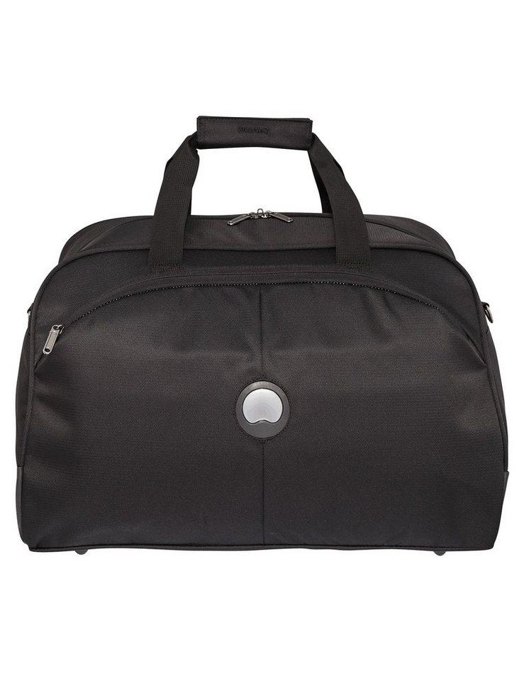 DELSEY Reisetasche mit abschließbarem Hauptfach, »U-Lite Classic« in schwarz