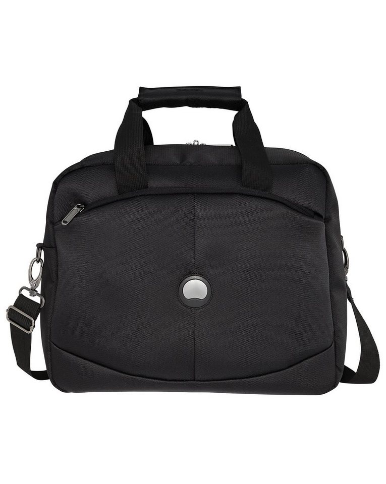 DELSEY Reisetasche mit Trolley-Aufsteck-System, »U-Lite Classic« in schwarz