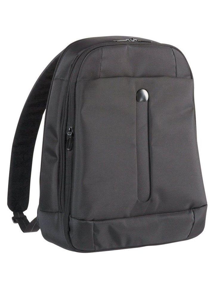 DELSEY Rucksack mit gepolstertem 15,6-Zoll Laptopfach, »Bellecour« in schwarz